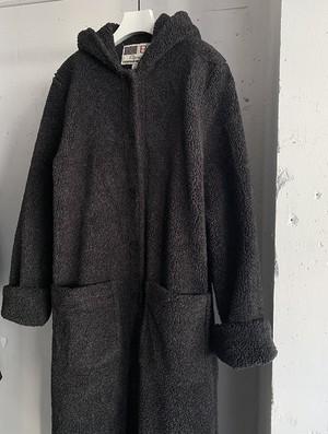 "made in usa "" KRISTEN BLAKE "" vintage boa maxi coat"