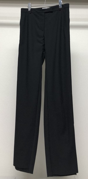 1990s CALVIN KLEIN COLLECTION WOOL GABARDINE TROUSERS