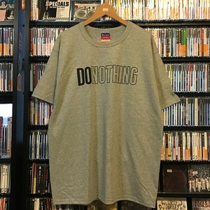 PICTUREMOUSE / DO NOTHING TEE(グレー)