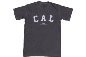 "【""CAL"" vintage T-shirt】/ black"