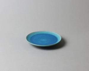 トルコ釉の小皿- 1| 環窯