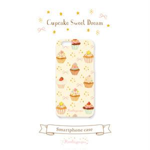 カップケーキスイートドリーム〈スマホハードケース for iPhone & Android〉