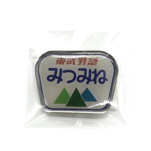 【東武ランドシステム株式会社】ヘッドマークピンズ「みつみね」