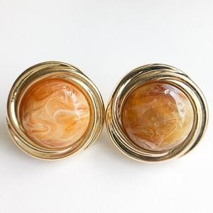 beige swirl pierce[p-536]