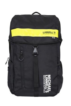 マイケルリンネルMICHAEL LINNELL ビックバックパック 30L ML-008(ブラック/イエロー)