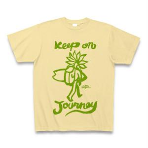keep on journey  yellow