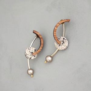 pierced earrings C-P29/earrings C-E29<gold>