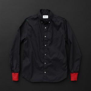 メンズ standard 黒×赤