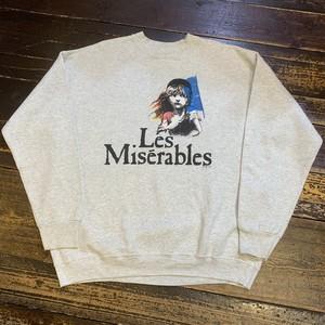 90s〜 LES MISERABLES SWEAT