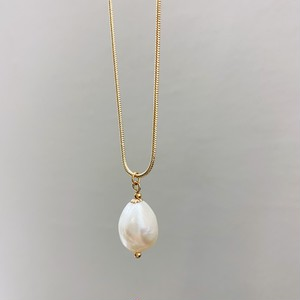F0068[baroque pearl necklace]