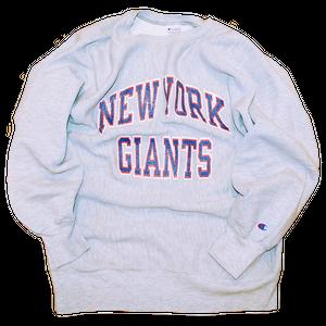 """""""Champion N.Y. Giants# Vintage Reverse Weave Sweat Used"""