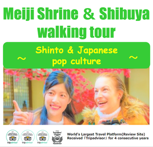 Meiji Shrine & Shibuya walking tour ~Shinto & Japanese Pop culture~
