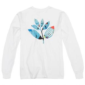 MAGENTA MIRO LS TEE  WHITE M マゼンタ ロングTシャツ