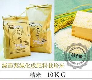 減農薬栽培 〈令和2年産〉南魚沼産コシヒカリ 精米10kg