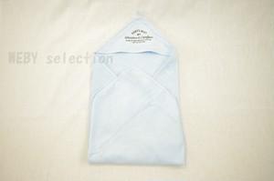 H&M HOME ベビー フード付きバスタオル 2色展開 <ライトブルー> おくるみ