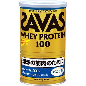 ザバス ホエイプロテイン100(バニラ味378g)