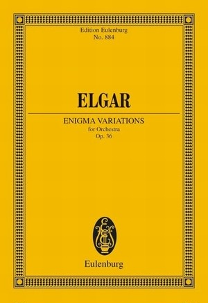 エルガー:エニグマ変奏曲 Op.36/ミニチュアスコア