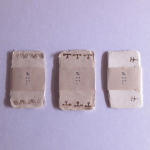 ミツマタ和紙のカード|メッセージカードセット