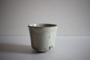 山田隆太郎|もみ灰釉立コップ