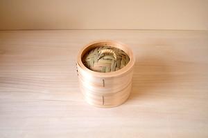 小田原扇町 横溝さんの蒸籠(小・15cm)2段