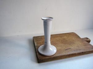 19c 南仏 陶器のキャンドルホルダー