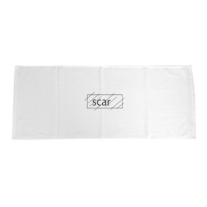 scar /////// OG TOWEL (White)