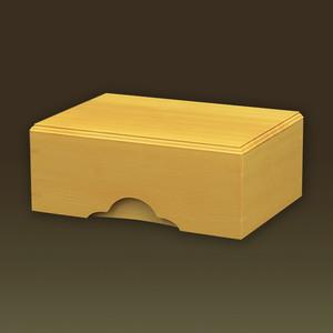 化粧木箱 榧 カヤ(日本産)【手作り/木の箱】