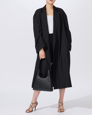 OVER SIZE LONG TRENCH COAT