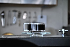 Joe Colombo Glass Cups and Saucers 1960s ジョエ・コロンボのガラスカップとソーサー60年代イタリア製