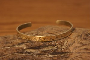 native brass bangle 3
