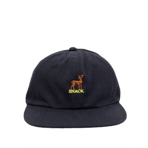 SNACK / BUCKS CANVAS POLO CAP / BLACK