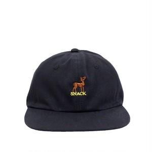 SNACK / BUCKS CANVAS POLO CAP / BLACK