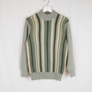 Mock Neck Knit Dead Stock