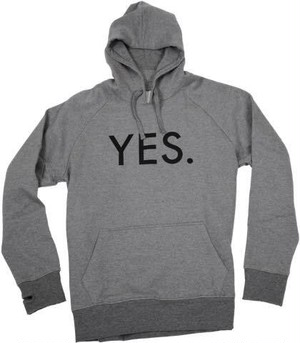 YES. LOGO PULLOVER