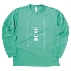 MOBS full court L/S tee mint