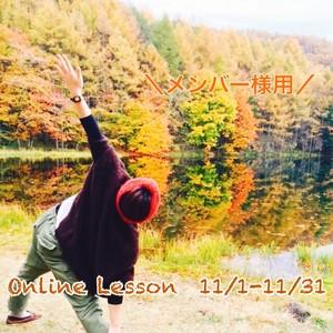 \メンバー様用/11月オンラインレッスン受け放題