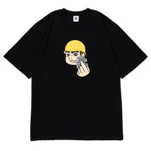 BLACK EYE PATCH / ATTENTION TEE