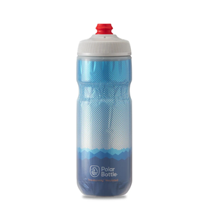 POLAR BOTTLE / Ridge 20oz / Cobalt Blue/Silver