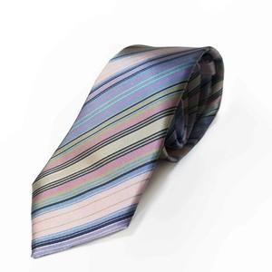 Multi Stripes - Pink フレッシュカラー の爽やかネクタイ-0016