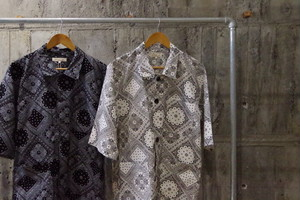 Paisley pattern coverall