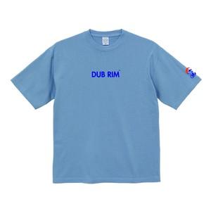 DUB RIM REBOUND マグナムウェイト ビッグシルエット Tシャツ/アシッドブルー