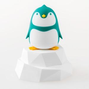 インテリアになるペンギンさんのドライバーセット(ターコイズ) (A00007)