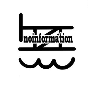 無情報オリジナルステッカー 無情報ロゴマーク