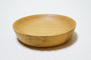 ナラの豆皿