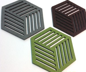 Little Factory Hexagon Coasters Cube コースター