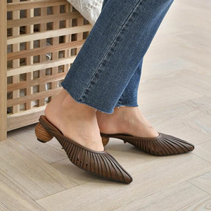 wood heel shoes