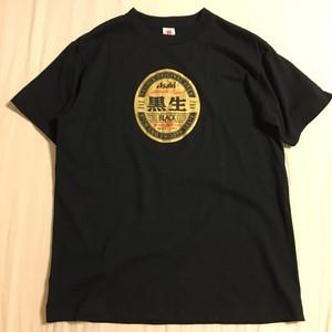 古着 Asahi 黒生 Tシャツ L