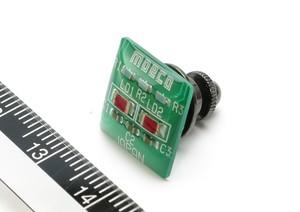 ピンズ 緑【回路線図ステッカー4種セットプレゼント】