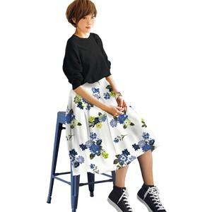 花柄 スカート 0002-D
