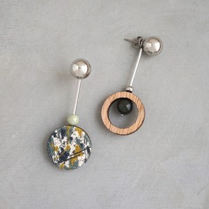 pierced earrings C-P03/earrings C-E03<silver>